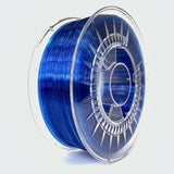 Devil Design PETG Filament 1.75 - 1Kg - SUPER BLAUW TRANSPARANT - DealZZ