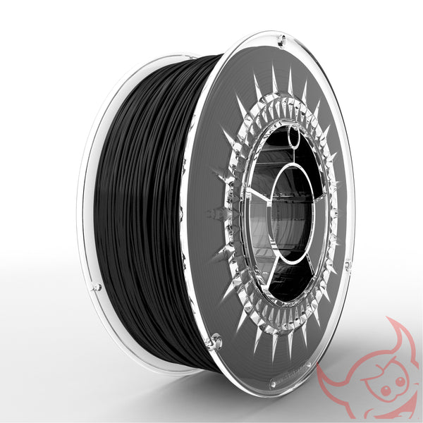 Devil Design PLA Filament 1.75 - 1Kg - ZWART - DealZZ