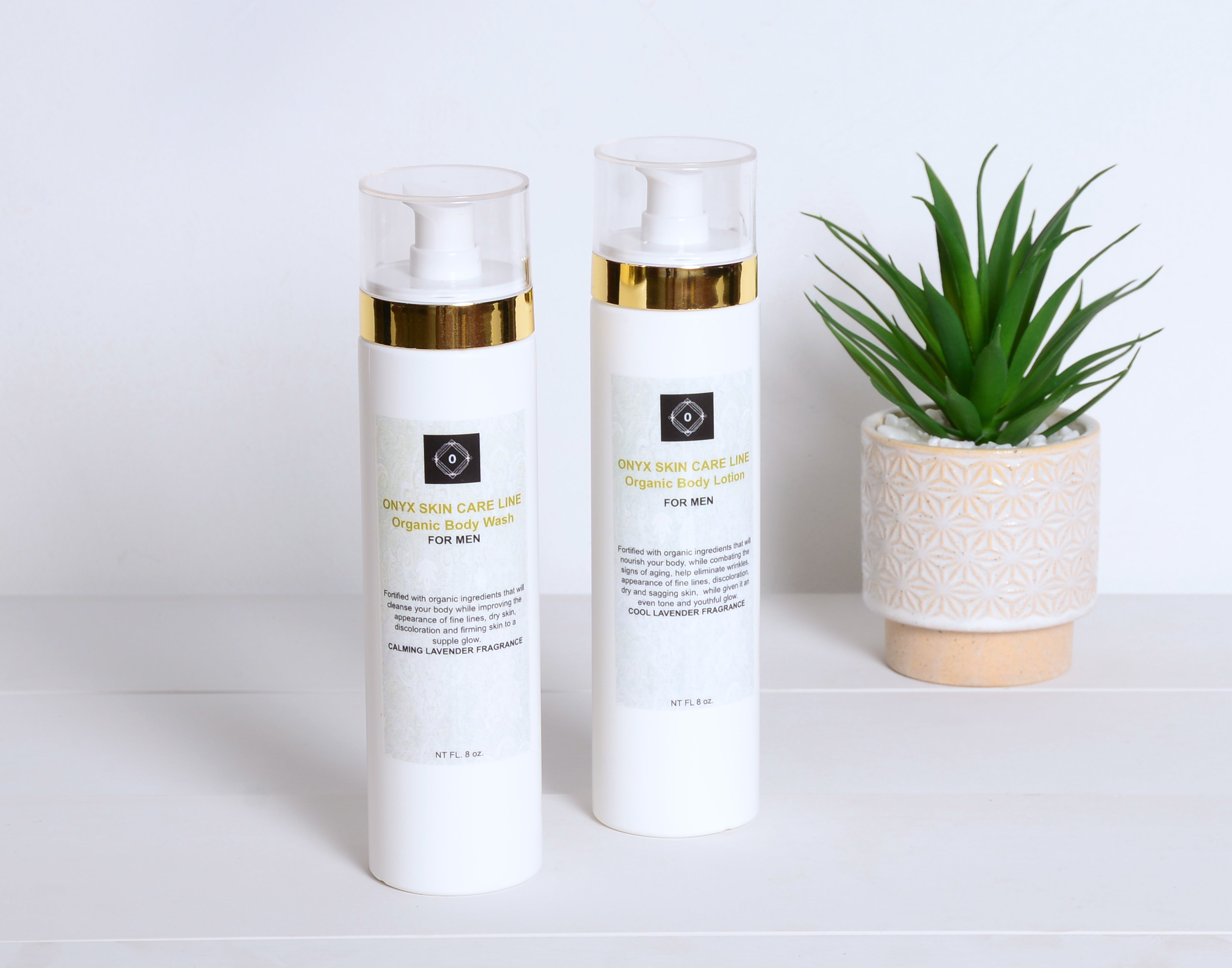 DUO SKIN CARE ANTI-ACNE SYSTEM - Nourishing Wash and Lotion - Calming Lavender Fragrance - for MEN -  ITEM CODE: DSCSYSAACLAVFRGMN