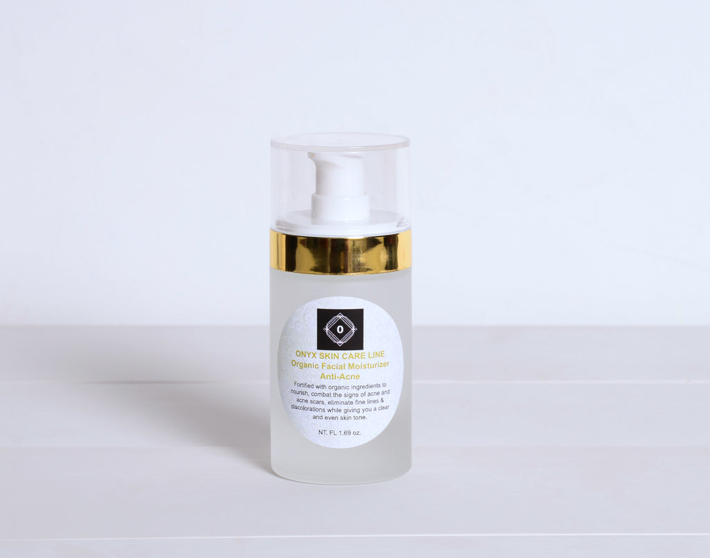 Organic Nourishing Facial Moisturizer - FOR WOMEN - Onyx Skin Care Line