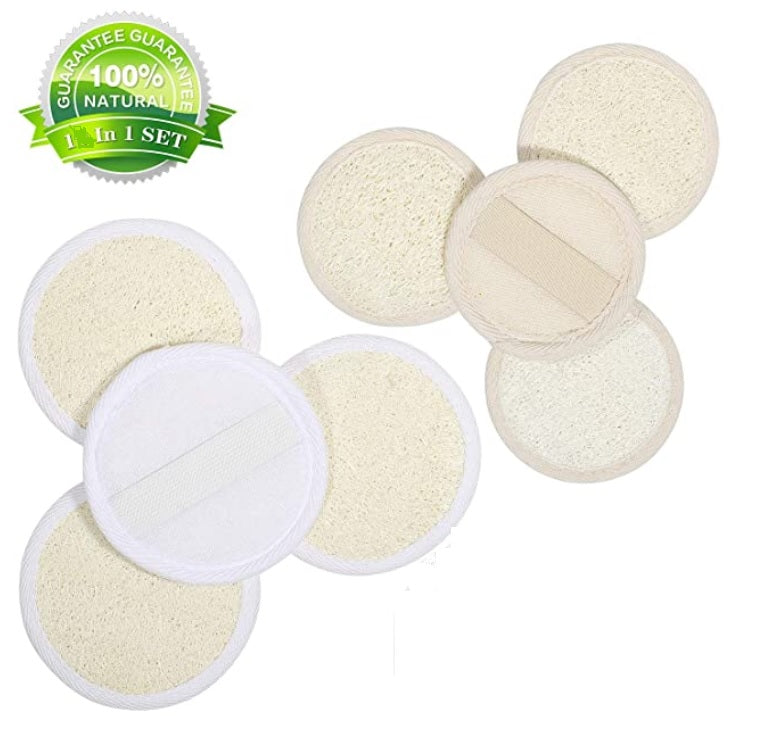 # 1 Natural Exfoliating Facial Sponge - Onyx Skin Care Line