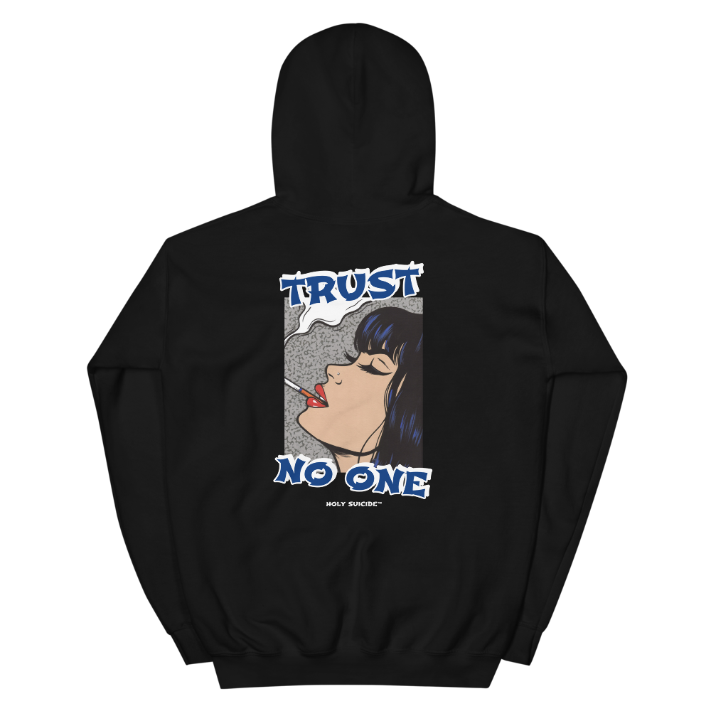 TRUST NO ONE HOODIE - Holy Suicide