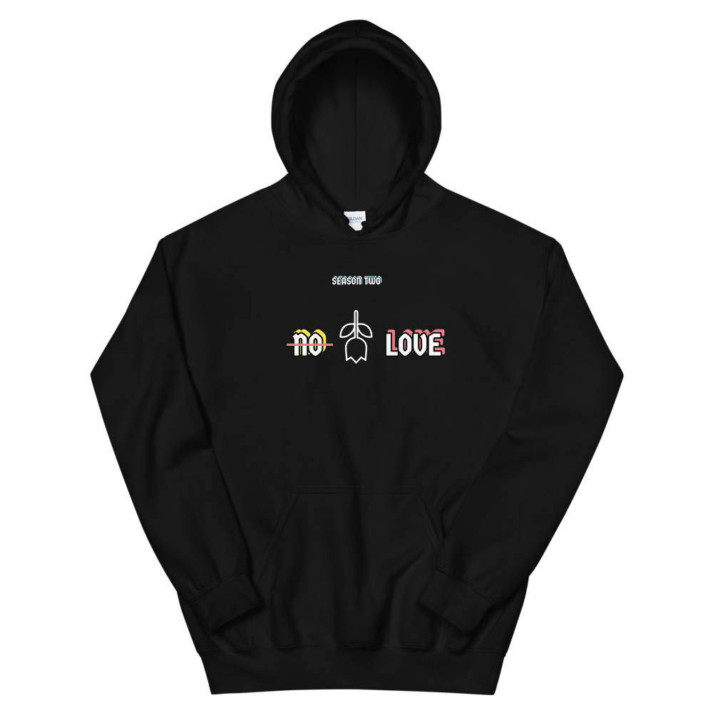 NO LOVE SEASON HOODIE - Holy Suicide