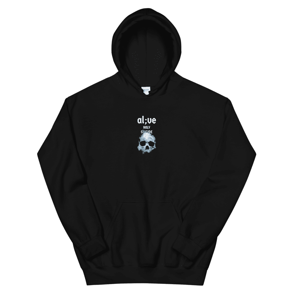 ALIVE SKULL HOODIE - Holy Suicide