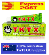 Load image into Gallery viewer, Tktx green tattoo numbing cream