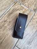 Custom made leather Leatherman pouch - suitable for many multi-tools and pocket knives