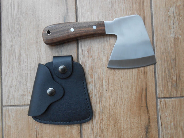 Craftsman made Hunting Hatchet - 01 carbon steel - micarta or walnut handle