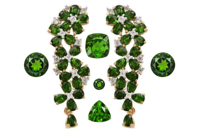 Green with Envy- Chrome Diopside