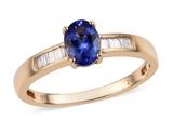 Tanzanite Wedding Ring from Gemstone Collectors U.S.