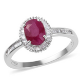 Ruby Wedding Ring from Gemstone Collectors U.S.