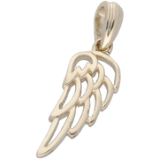 Angle Wing Pendant in 10K Yellow Gold Gemstone Collectors U.S.