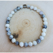 Dendritic Agate Mala Bracelet Mindful Creations by Gloria