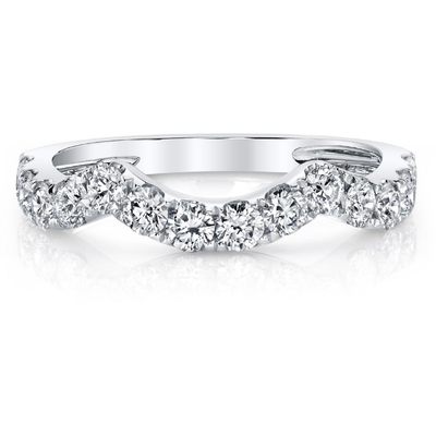 Diamond Stackable Ring in 14K White Gold Gemstone Collectors U.S.