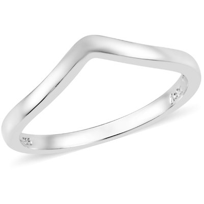 Platinum over Sterling Silver Stackable Ring Gemstone Collectors U.S.