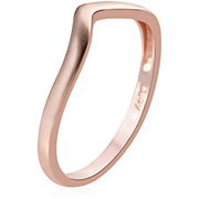 Vermeil Rose Gold over Sterling Silver Stackable Ring Gemstone Collectors U.S.