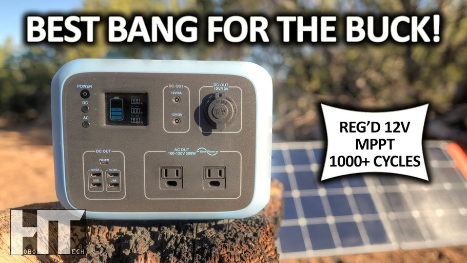 The BEST 500wh Solar Generator? BLUETTI AC50S Portable Power Station Review