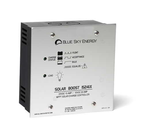 Solar Boost 1524iX | Solar charge controller with MPPT