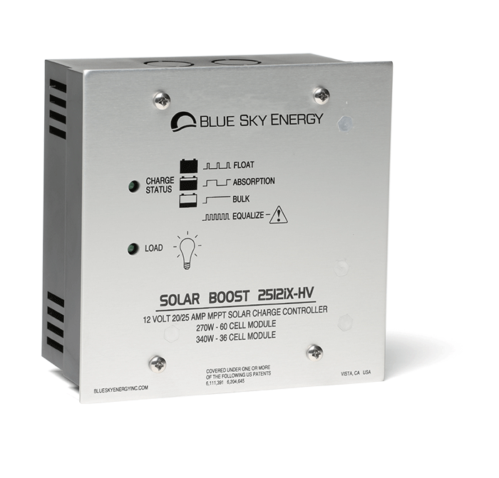 Solar Boost 2512i(X)-HV | Solar charge controller with MPPT