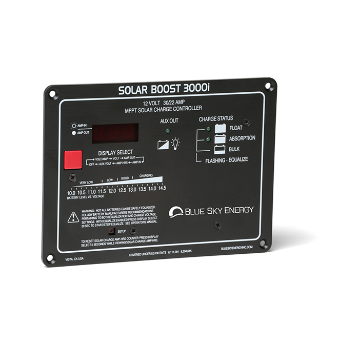 Solar Boost 3000i | Solar charge controller with MPPT