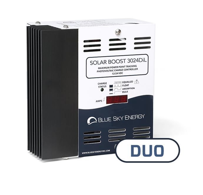 Solar Boost 3024(D)iL | DUO Solar/Wind or Hydro option