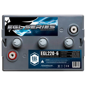 Fullriver EGL220-6 | Supreme Deep Cycle AGM Battery