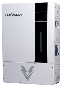 KiloVault® HAB™ 7.5 kWh Lithium Wall-Mount Energy Storage System