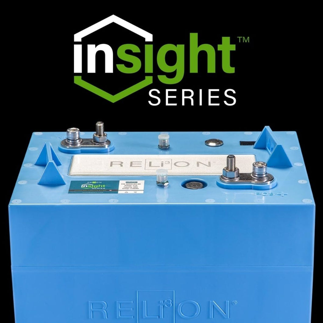 RELiON InSight 48V 30Ah | Lithium Golf Cart Battery