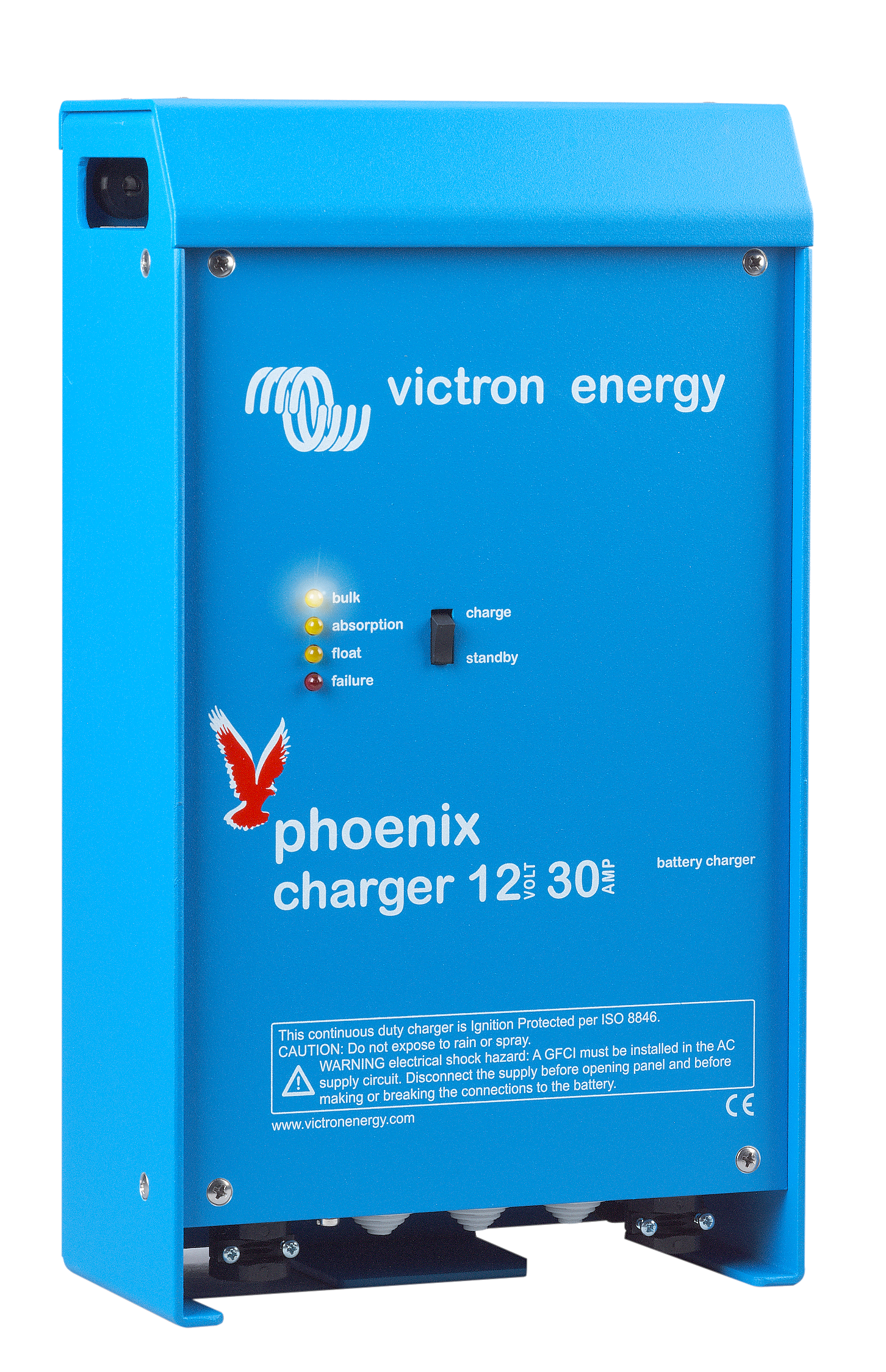 Phoenix Charger | Adaptive 4-stage charge characteristic