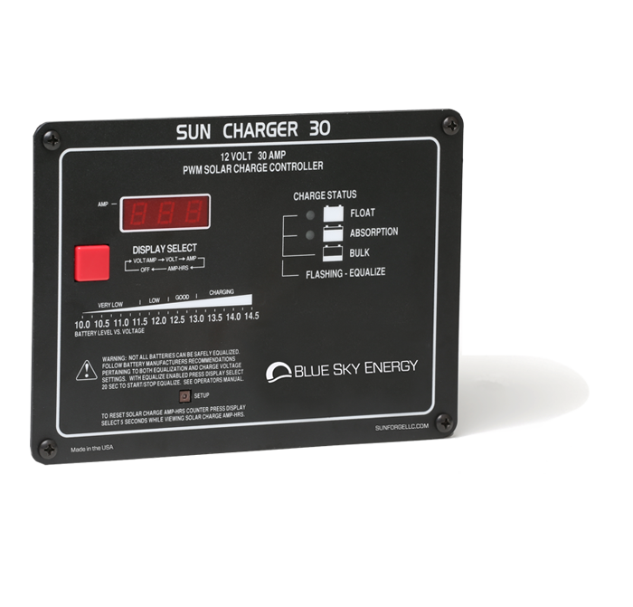 Sun Charger 30 | PWM Solar Charge Controller