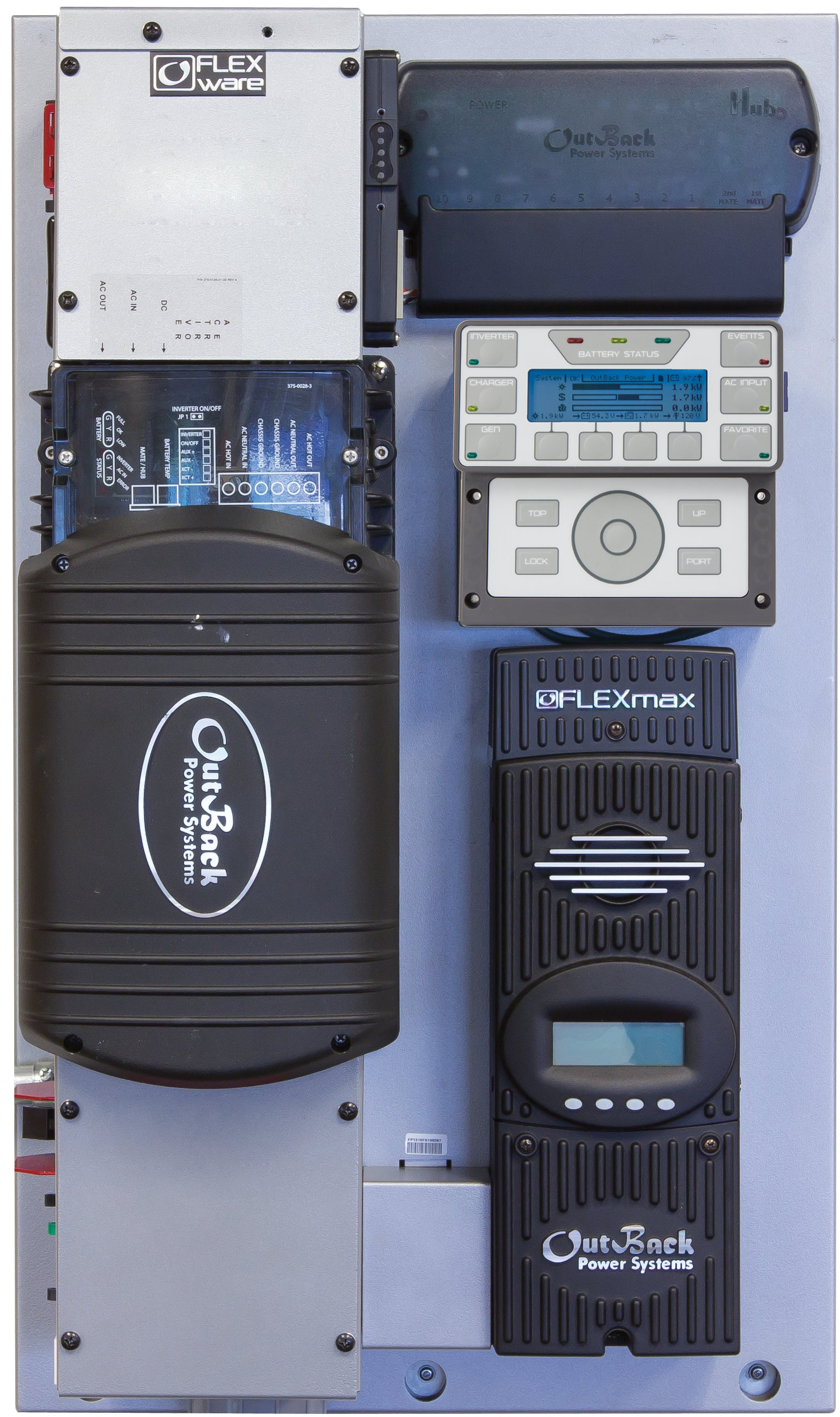 FLEXpower ONE FXR | Fully Pre-Wired Single Inverter System