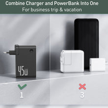 Load image into Gallery viewer, Baseus GaN Power Bank Charger 10000mAh 45W