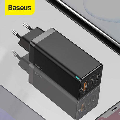 Baseus 65W GaN Charger Quick Charge 4.0 3.0 Type C PD USB Charger