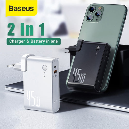 Baseus GaN Power Bank Charger 10000mAh 45W