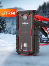 Load image into Gallery viewer, UTRAI Emergency Car Jump Starter 2000A/1600A