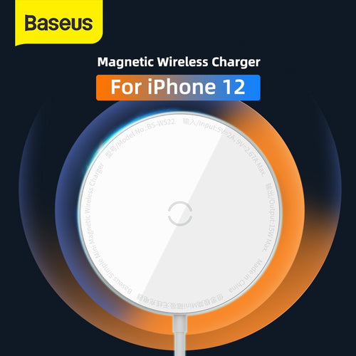 Baseus Magnetic Wireless Charger For iPhone 12