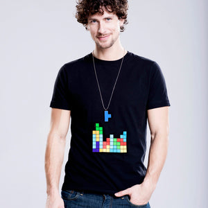 "SHIRT & KETTE ""TETRIS"" FOR HIM"