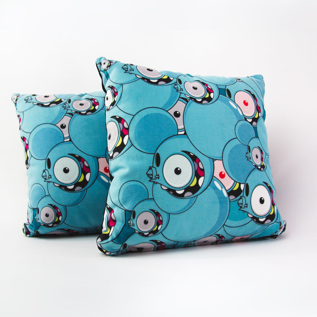 Dalek Space Monkey pillow