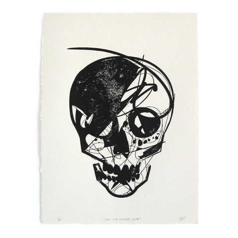 "Jason Thielke ""Just Like Everyone Else (Block Print)"