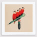 Kraftwerk Bird Art Print