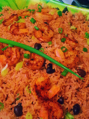 Exotic Cinnamon Spiced Rice with Shrimp