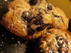Overloaded Blueberry Muffins