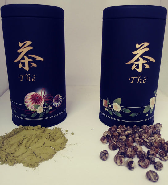 Japanese Tea Tin Gift Set Organic