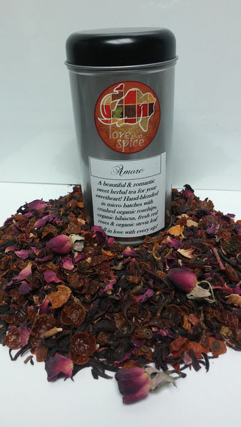 Organic Amore Berry Herbal Tea Blend