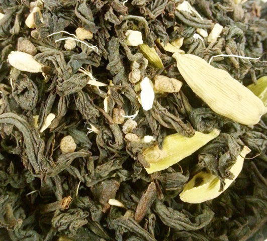 Cardamom Ginger Black Tea Infusion