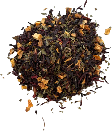 Hibiscus Citrus Mint Herbal Tea