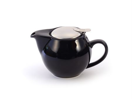 Porcelain Teapot with Stainless Steel Infuser