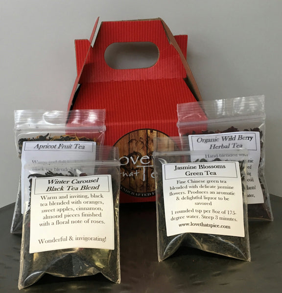 Mini Spice Sampler Box - Gift