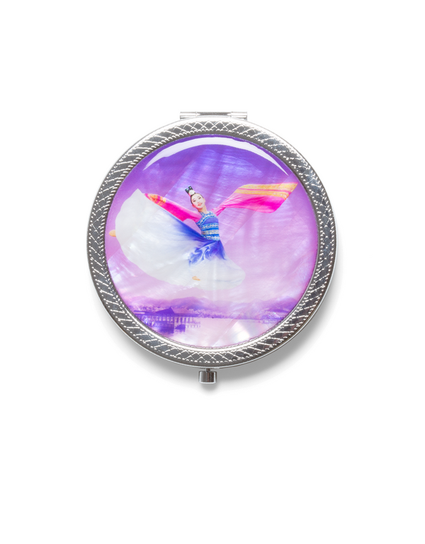 A Touch of Paradise Compact Mirror