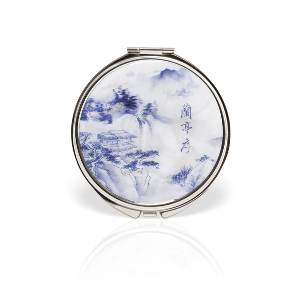 Poets of the Orchid Pavilion Compact Mirror 2019