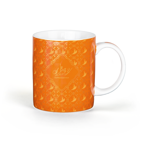 Signature Mug - Blue/Orange